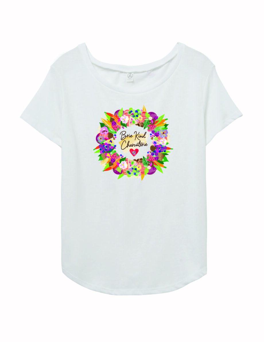 Brie Kind Charcuterie T-Shirt 03